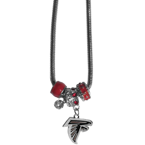 Atlanta Falcons Official NFL Euro Bead Necklace