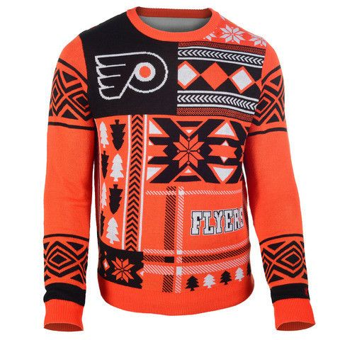 "Philadelphia Flyers Official NHL Men's ""ugly Sweater"""