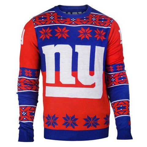 New York Giants Official Men's NFL Big Logo Sweater
