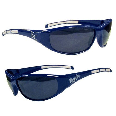 Kansas City Royals Men's Official MLB 3 Dot Sports Wrap Sunglasses