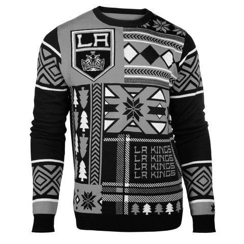 "Los Angeles Kings Official NHL Men's ""Ugly Sweater"" by Klew"