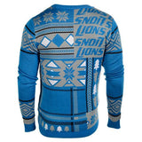 "Detroit Lions Official NFL Men's ""Ugly Sweater"" by Klew"