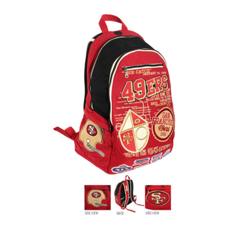 San Francisco 49ers Historic NFL Book Bag