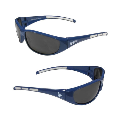 Los Angeles Dodgers Men's Official MLB 3 Dot Sports Wrap Sunglasses