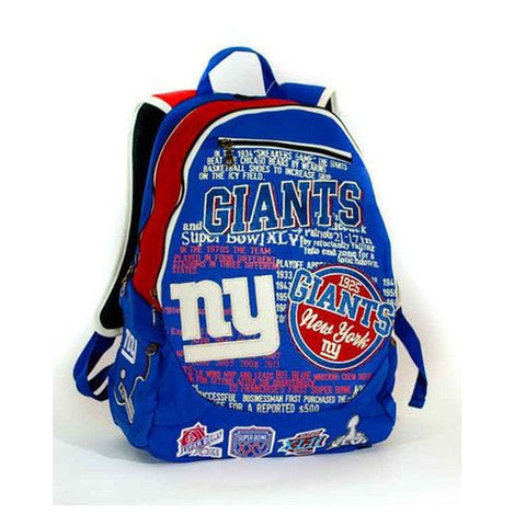 New York Giants Historic NFL Book Bag