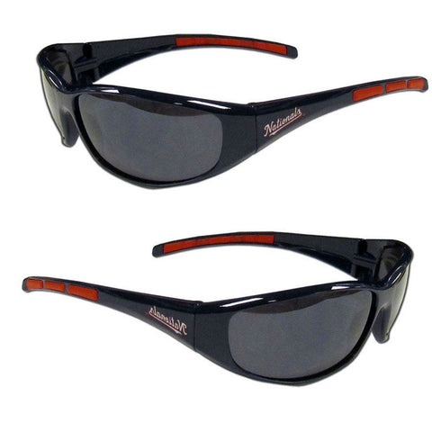 Washington Nationals Men's Official MLB 3 Dot Sports Wrap Sunglasses