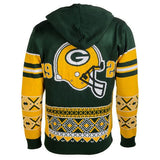 "Green Bay Packers Official NFL ""Big Logo"" Hooded Sweatshirt by Klew"