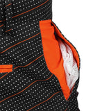 Cincinnati Bengals Official NFL Dots Walking Shorts with Pockets Button and Zipper