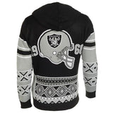"Oakland Raiders Official NFL ""big Logo"" Hooded Sweatshirt By Klew"