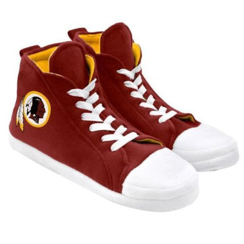 Washington Redskins Men's Official NFL Puffy Sneaker Slipper
