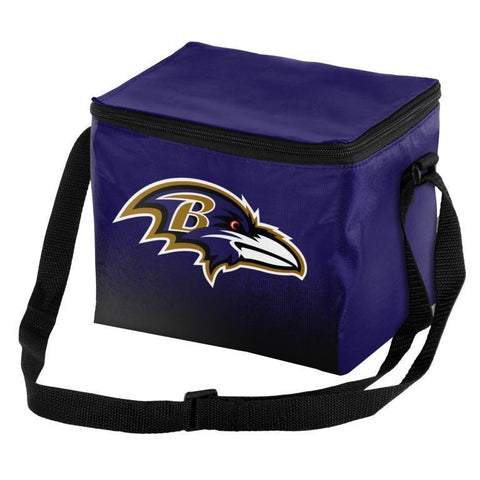 Baltimore Ravens Official NFL Gradient 6 Pack Cooler Tote