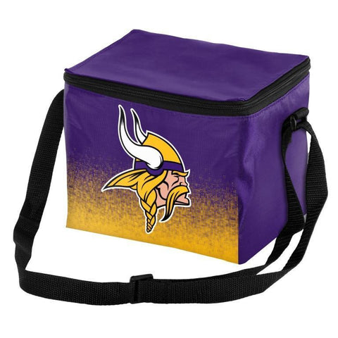 Minnesota Vikings Official NFL Gradient 6 Pack Cooler Tote