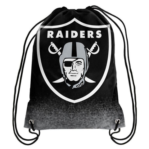 Oakland Raiders Official NFL Drawstring Backpack 2016