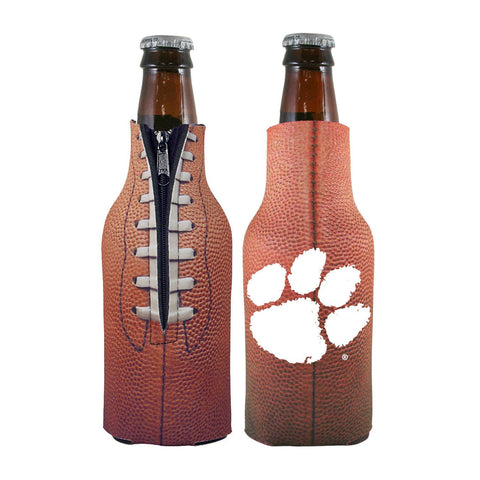 Clemson Tigers NCAA Pigskin Bottle Coolie Cooler