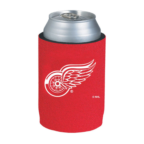 Detroit Red Wings NHL Can Kaddy Huggie Drink Holder