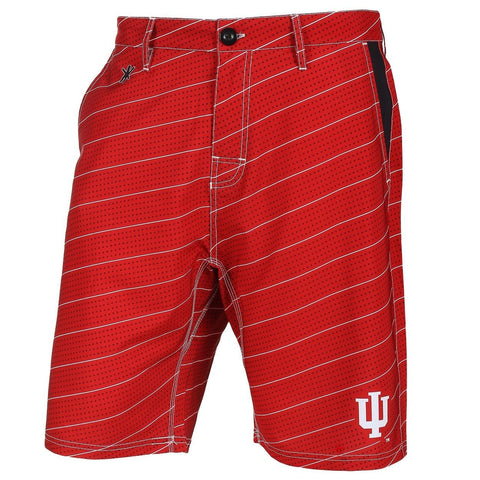 Indiana Hoosiers Official NCAA Dots Walking Shorts with Pockets Button and Zipper