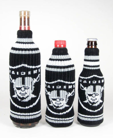 Oakland Raiders NFL Krazy Kovers Stretchy Woolie Bottle Cooler