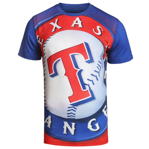 Texas Rangers Official MLB Big Logo T-Shirt