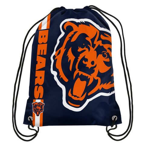 Chicago Bears Official NFL Drawstring Backpack 2015