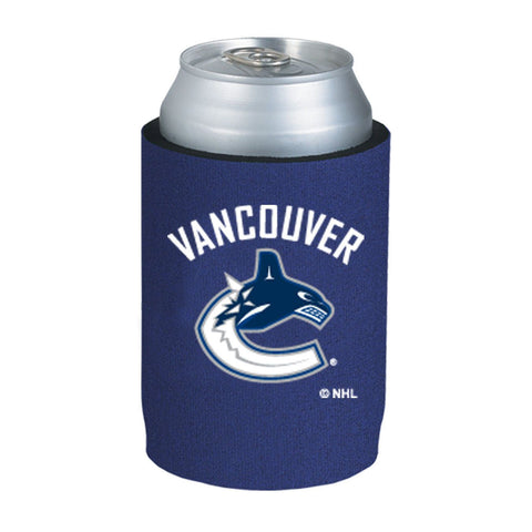 Vancouver Canucks NHL Can Kaddy Huggie Drink Holder