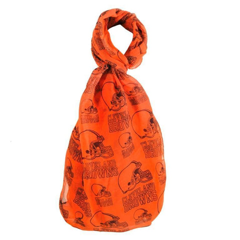 Cleveland Browns Official NFL Logo Infinity Scarf