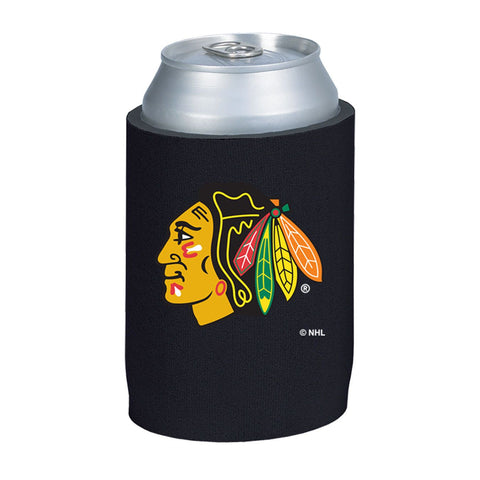 Chicago Blackhawks NHL Can Kaddy Huggie Drink Holder