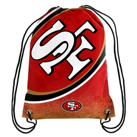 San Francisco 49ers Official NFL Drawstring Backpack 2016