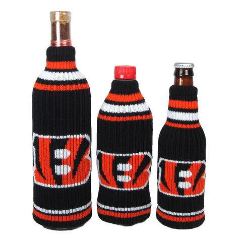 Cincinnati Bengals NFL Krazy Kovers Stretchy Woolie Bottle Cooler
