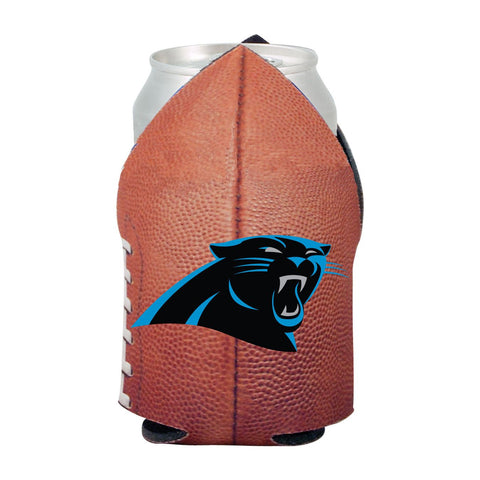 Carolina Panthers NFL Beer Can Pigskin Holder Neoprene Cooler
