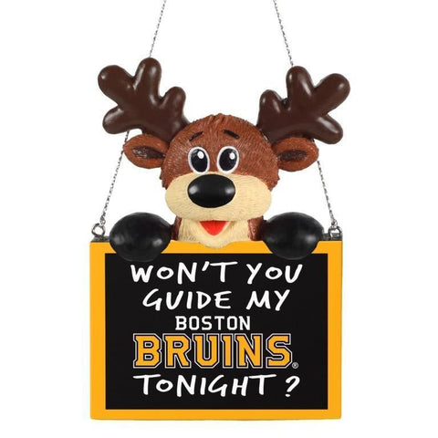 Boston Bruins NHL Christmas Tree Ornament
