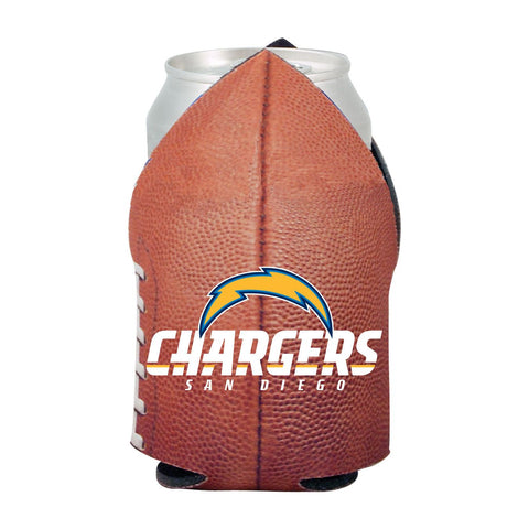 San Diego Chargers NFL Beer Can Pigskin Holder Neoprene Cooler
