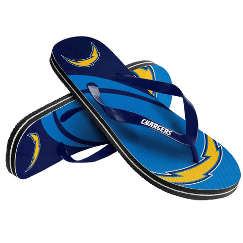 San Diego Chargers Official NFL Unisex Thong Flip Flops