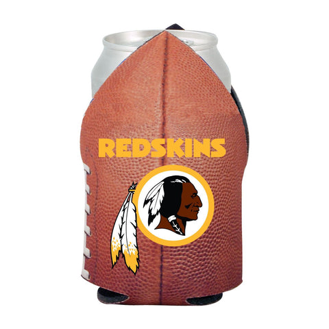 Washington Redskins NFL Beer Can Pigskin Holder Neoprene Cooler