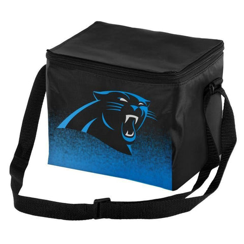 Carolina Panthers Official NFL Gradient 6 Pack Cooler Tote