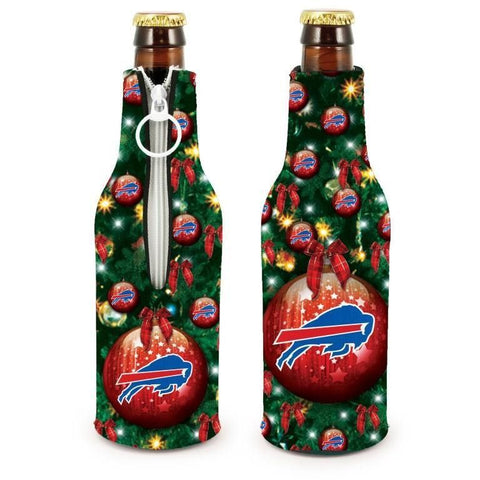 Buffalo Bills NFL Christmas Holiday Bottle Suit Coolers - 2Pack