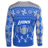 Detroit Lions Official NFL Christmas Tree & Ornament Ugly Sweater