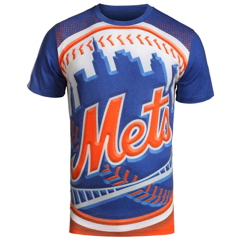 New York Mets Official MLB Big Logo T-Shirt