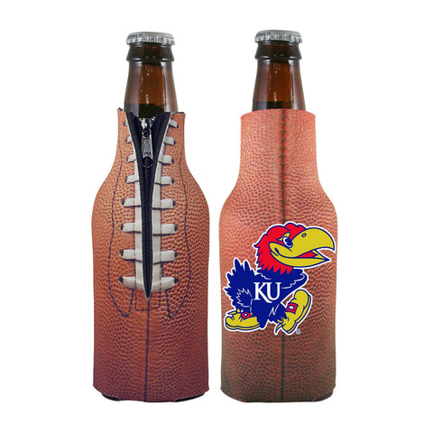Kansas Jayhawks NCAA Pigskin Bottle Coolie Cooler