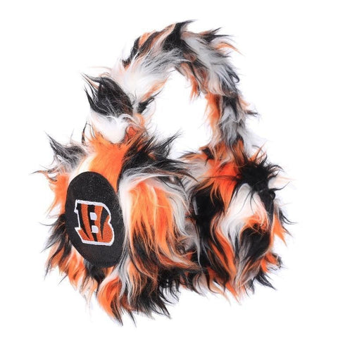 Cincinnati Bengals NFL Oversized Plush Warm Winter Earmuffs