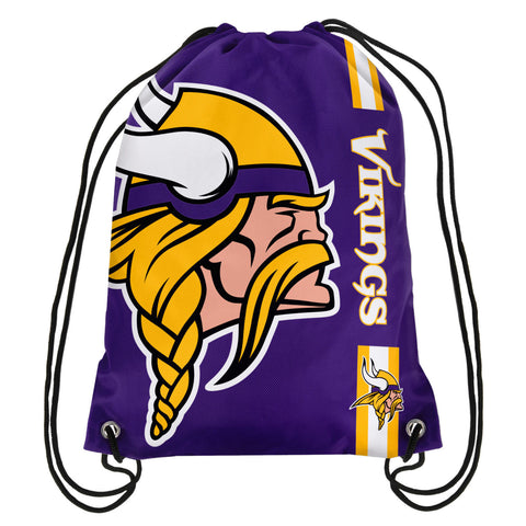 Minnesota Vikings Official NFL Drawstring Backpack 2015