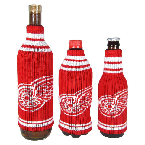 Detroit Red Wings NHL Stretchy Woolie Krazy Kover Bottle Cooler