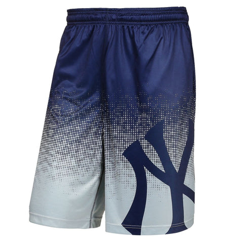 New York Yankees Official MLB Gradient Polyester Drawstring Shorts