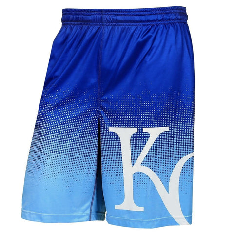 Kansas City Royals Official MLB Gradient Polyester Drawstring Shorts