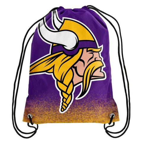 Minnesota Vikings Official NFL Drawstring Backpack 2016