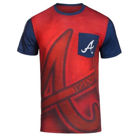 Atlanta Braves Official MLB Pocket Tee