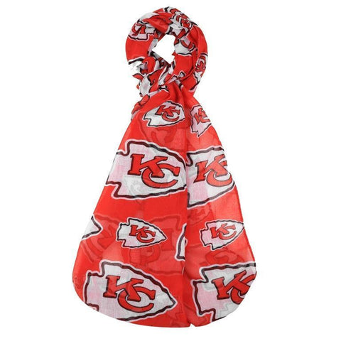 Kansas City Chiefs Official NFL Logo Infinity Scarf