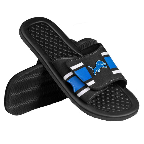 Detroit Lions Official NFL Men's Shower Slide Flip Flops