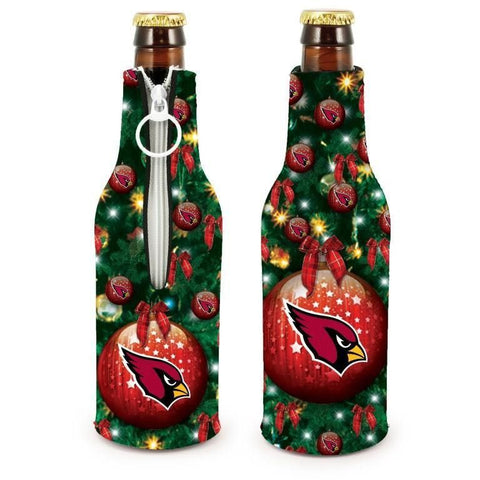 Arizona Cardinals NFL Christmas Holiday Bottle Suit Coolers - 2Pack