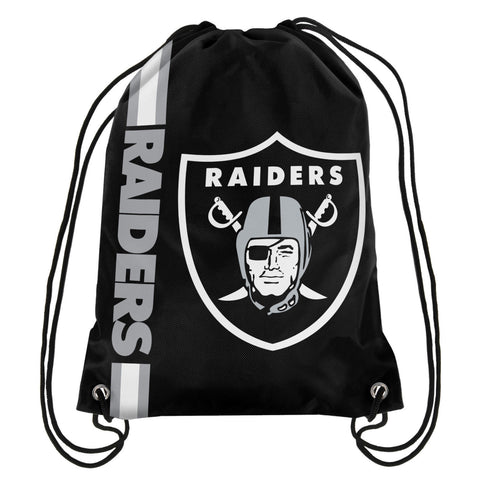Oakland Raiders Official NFL Drawstring Backpack 2015