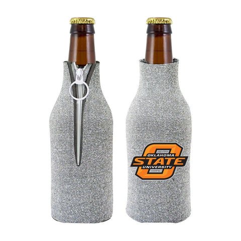 Oklahoma State Cowboys NCAA Insulated Neoprene Ladies Glitter Bottle Cooler